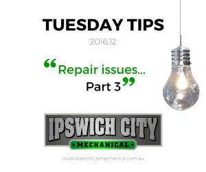 TUESDAY TIPS 2016.12