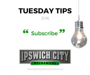 Subscribe to TUESDAY TIPS March 2016