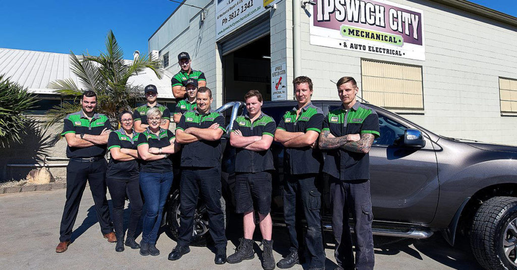 Ipswich City Mechanical Team