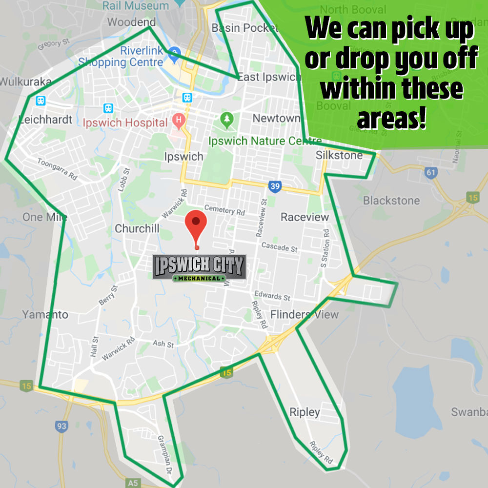 Pick Up and Drop Off Map