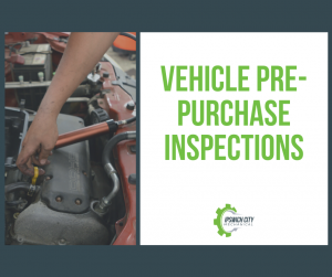 VEHICLE PRE PURCHASE INSPECIONS